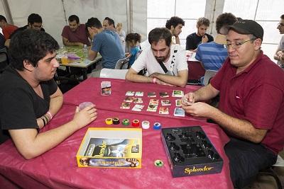 24 שעות ביממה של משחקי לוח וקופסה - באוהל המשחקים